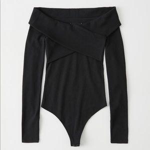 New Abercrombie Cross Front Bodysuit